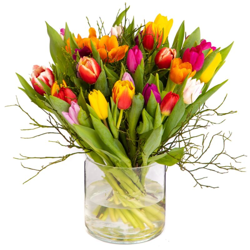 Top tulpen boeket
