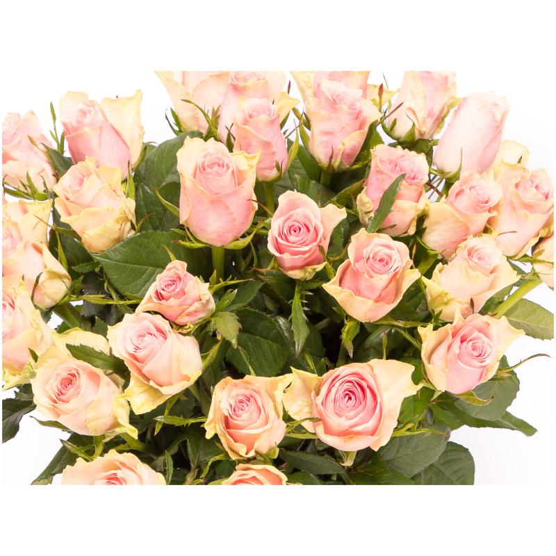 Roze rozen boeket bestellen