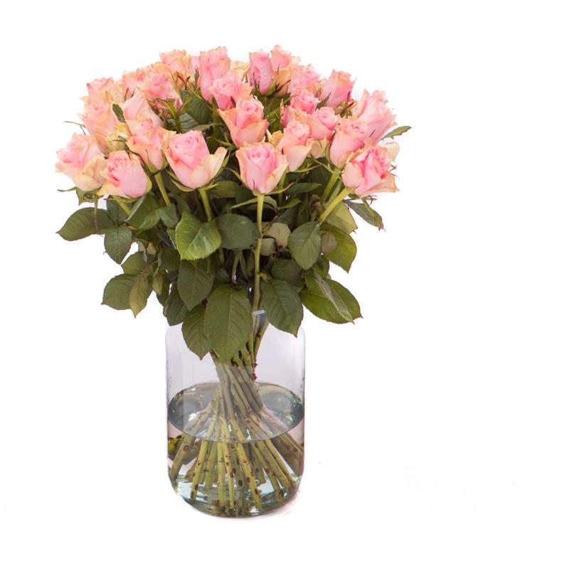 Roze rozen bestellen